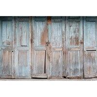 古い木材ドア写真の背景写真撮影の背景品質ビニール