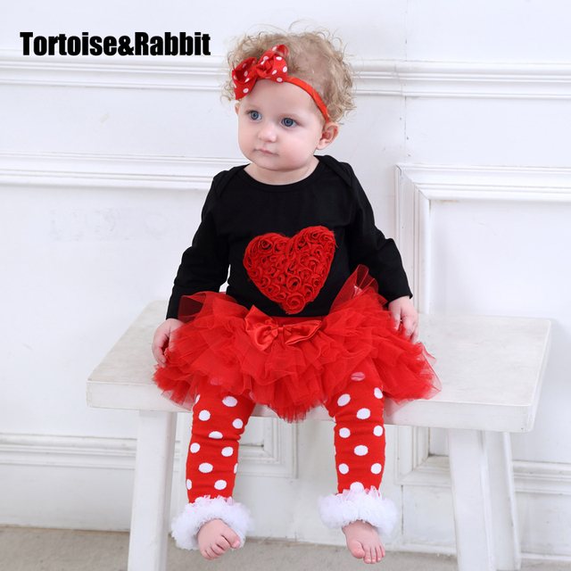1202e193fe34 Baby Girl 3pcs Bodysuits Set Headbands Socks Cartoon Organic Cotton Romper Infant  Clothes Set Newborn Lace