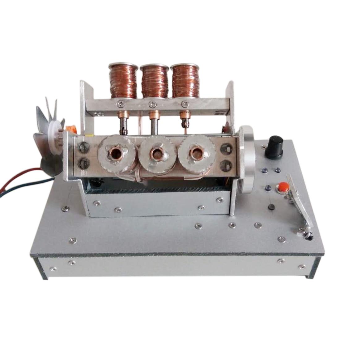 Motor de 6 cilindros funcionamiento