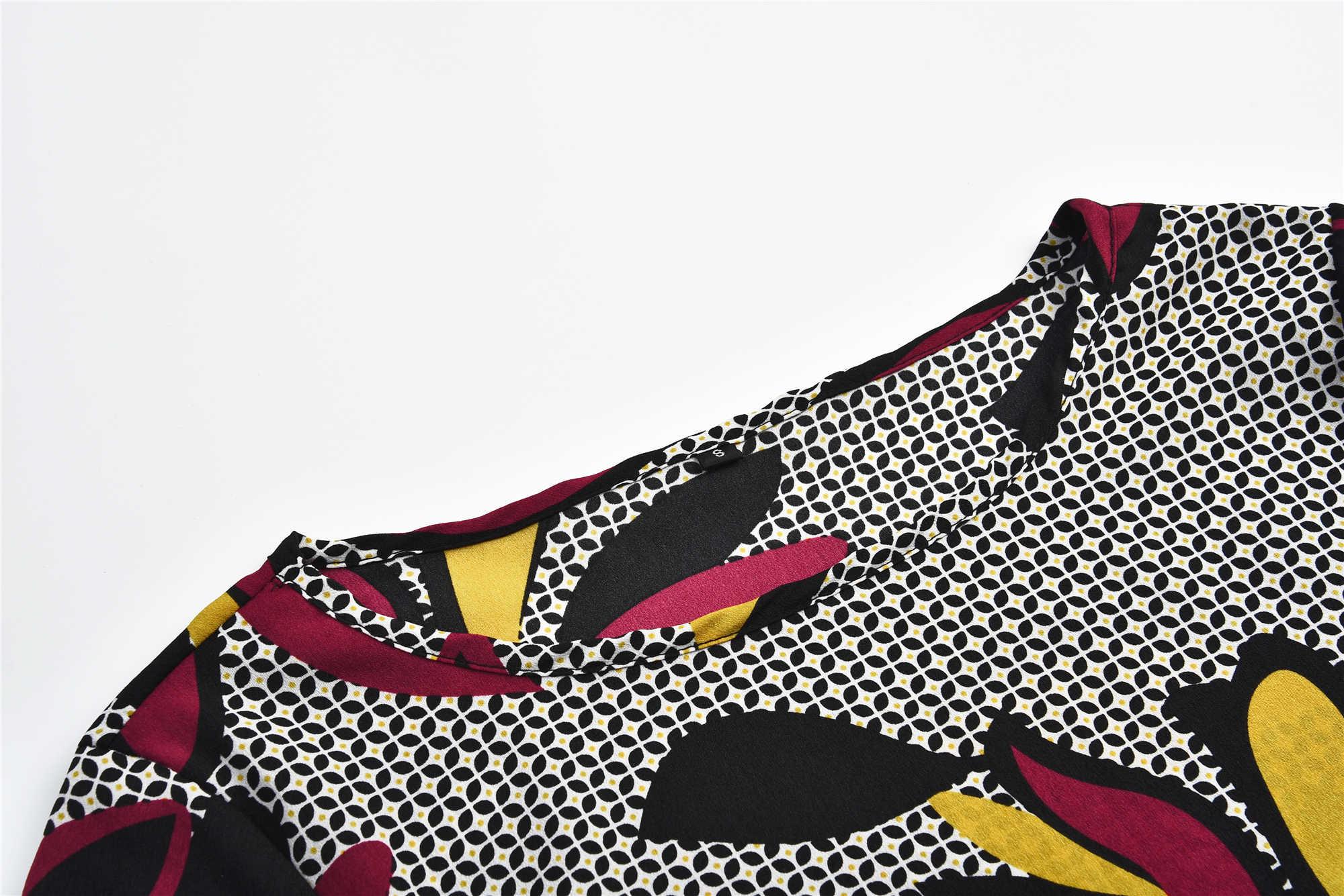 AVODOVAMA M для женщин платье с принтом сезон: весна-лето Модные, пикантные круглым вырезом комбинезон для новорожденных с длинными рукавами мини платья