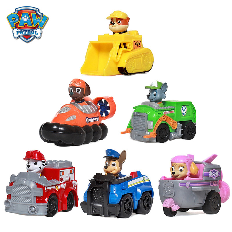 New Paw Patrol Dog Anime Figure Puppy Toy Action Figure Model Patrulla Canina Toys For Children Gifts Free Delivery