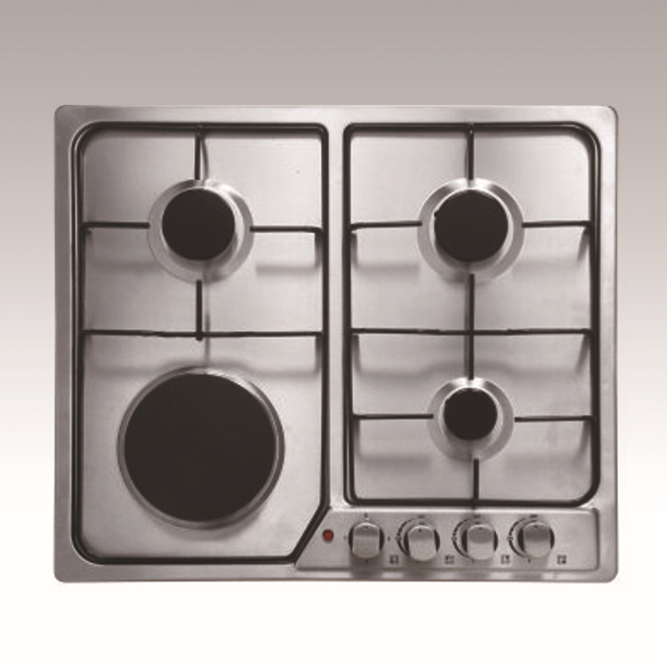 induction gas combo cooktop