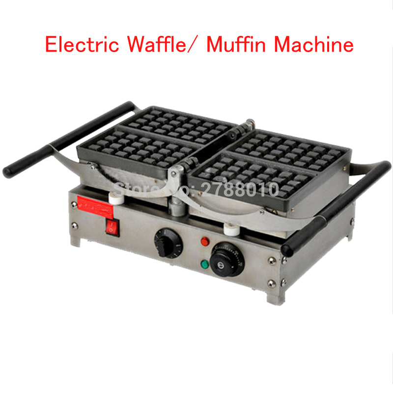Electric Waffle Cookie Maker Waffle/ Muffin Machine Cake Making Machine with 4 Heating Plates FY 2201