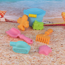 Beach Bucket Outdoor Summer Toys Favor Sand Box Play Set Beach Sand Pail Mini Bucket,Shovel,Rake,Scoop Beach Sand Toy