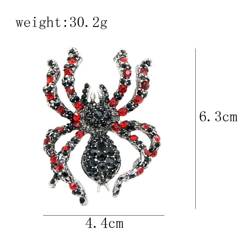 CINDY XIANG berlian buatan labah-labah labah-labah untuk penyataan - Perhiasan fesyen - Foto 2