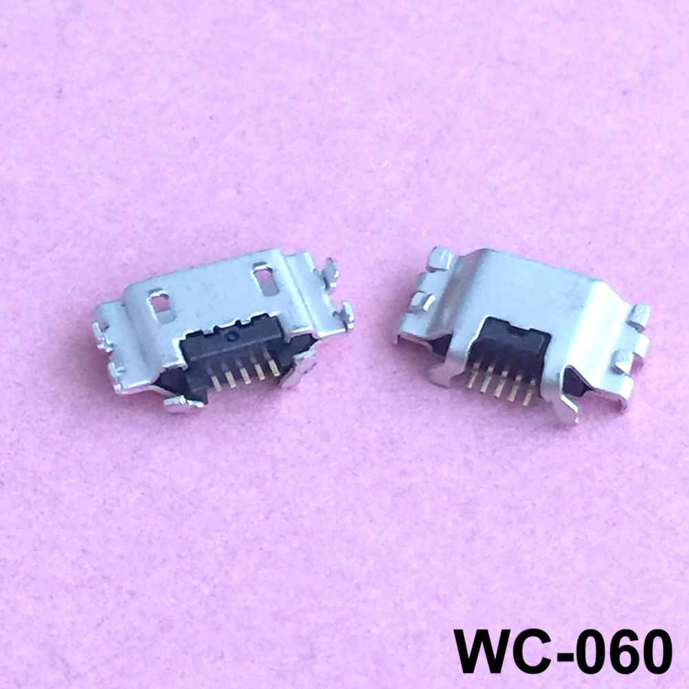 Cables 2-100x Micro USB Connector for Sony LT22I LT28I LT26I Micro USB Jack DC Charging Socket Connector Cable Length: 5 pcs
