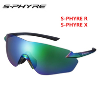 S PHYRE R X Discoloration Color Polarized Riding Glasses Goggles (Original authentic.Delivery with box) WONDERFUL New