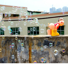 цена на Bubble gun toy funny fully automatic bubble machine ass bubble wind gun outdoor toy bubble show toys for kids gifts