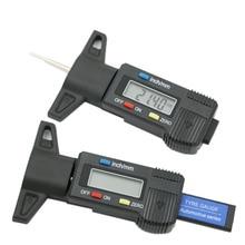 Calibro di profondità digitale calibro di profondità del battistrada LCD calibro del battistrada per pneumatici per auto 0 25.4mm strumento di misurazione calibro