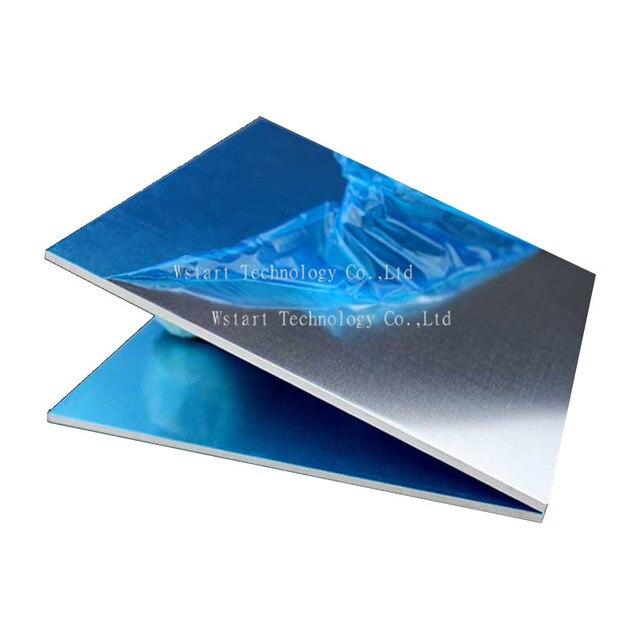 6061 aluminum plate aluminium sheet 390mm x390mm x 2mm aluminum alloy diy 1pcs