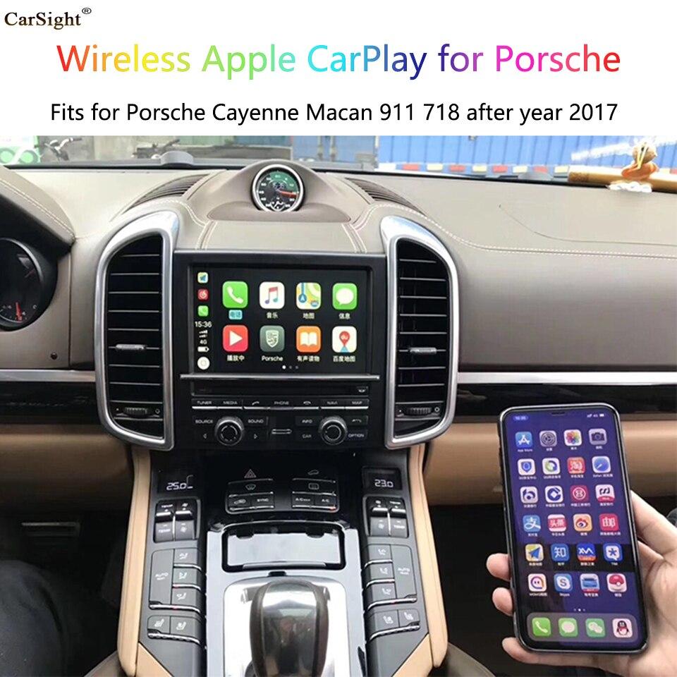 Voiture jouer Android Auto adaptateur pour usine stéréo Porsche 911 Android Miracast sans fil miroir soutien dernière IOS13 Verion