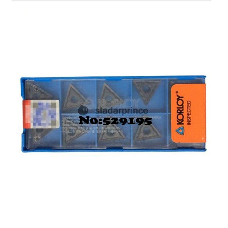 TNMG160404 HA TNMG160408 HA NC3120 original Korloy carbide Turning Inserts special Purpose Vehicle Lathe Blade
