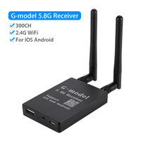 G Model 5 8G 300CH FPV Portable WiFi Transfer Receiver Durable For IOS Android Smartphones Camera