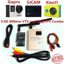FPV System Boscam 5.8Ghz 600mW 48CH Transmitter TS832 Receiver RC832H Video System For FPV Drone Qua