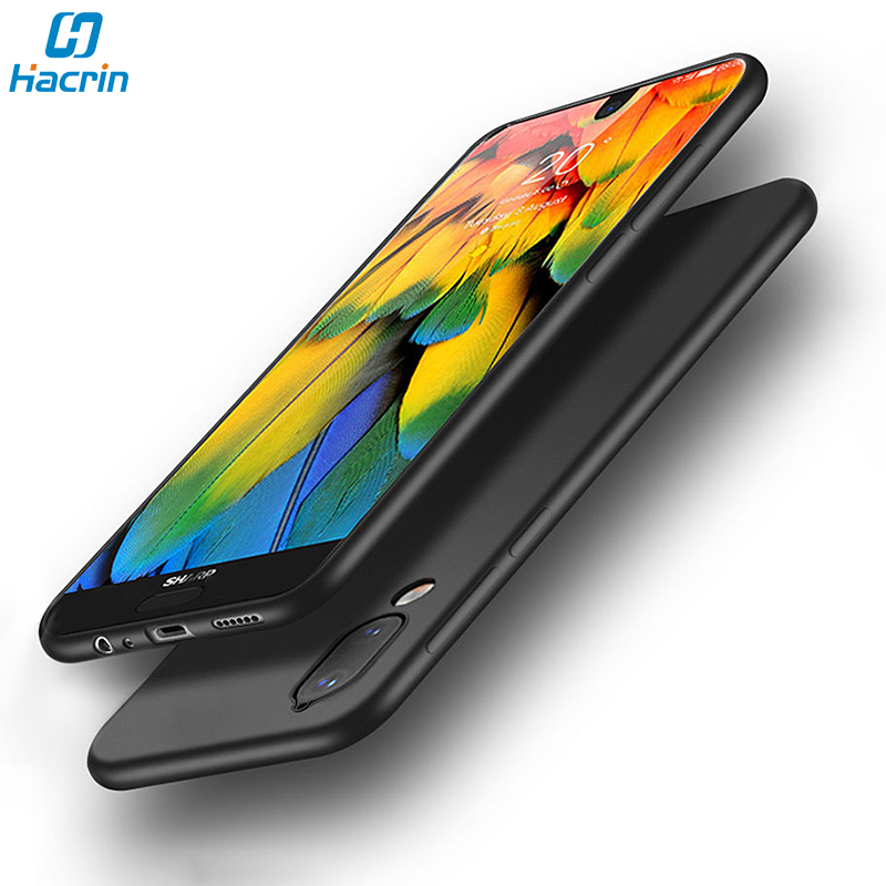 Hacrin Matte Case For Sharp Aquos S2 Soft TPU Slim Frosted Bumper Back Full Protection Cover