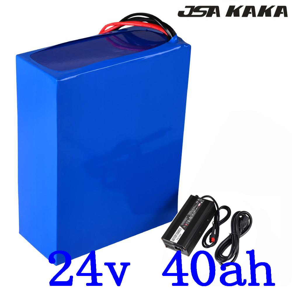 <font><b>24V</b></font> 40AH Lithium ion ebike battery <font><b>24V</b></font> 500W 700W 1000W Battery use 3.7V 5000mah cell <font><b>24V</b></font> 40AH <font><b>Scooter</b></font> Battery with <font><b>5A</b></font> <font><b>charger</b></font> image