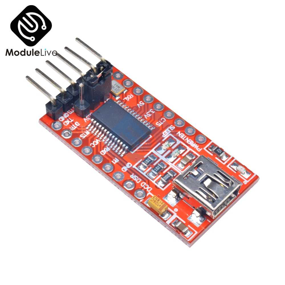 FT232RL FT232 FTDI シリアル USB 3.3 V 5.5 V に TTL アダプタモジュールミニ Arduino の RXD/TXD ボード DIY キットミニ USB