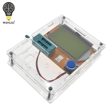 Boîte de LCR T4 WAVGAT boîtier de boîtier de LCR T3 en acrylique transparent pour testeur de Transistor LCR T4 ESR SCR/MOS LCR T4