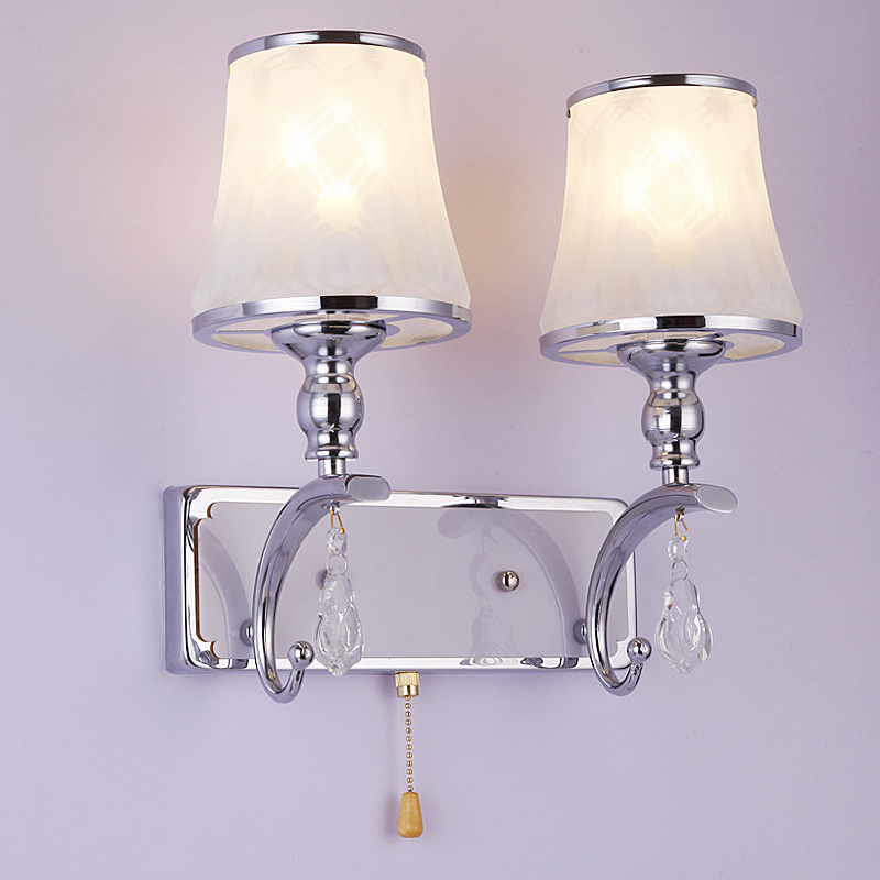WAll lamps LED new creative modern bedroom bedside lamp wall lights wall lamp room simple and warm aisle FG573