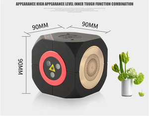Image 2 - RGB Rechargeable Wireless Bluetooth Speaker Laser Projector Stage Lighting Effect for Party Outdoor DJ Disco Holiday Xmas Party