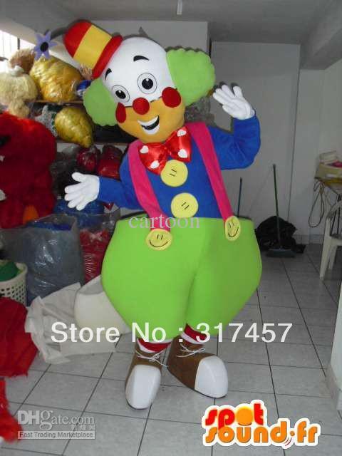 Costume de mascotte Clown Costume de personnage adulte costume de mascotte Cosplay livraison gratuite