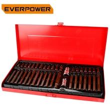 цена на Everpower 40PCS S-2 Torx Socket Set Hex Material Sleeve batches Tool Set 3/8