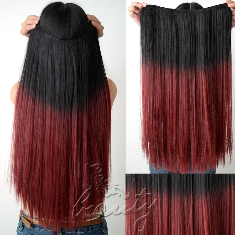 Red To Brown Ombre Hair Color