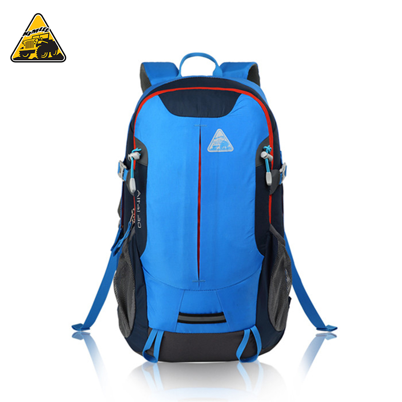 KIMLEE 30L Mountaineering Backpack Large Capacity 30L Super Light Waterproof Hiking Sports Travelling Backpack for Male Female pw328b 30l