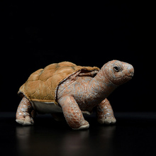 26 см Галапагосская гигантская черепаха реалистичные хелоноиды галапагоэнсис моделирование черепаха кукла милая плюшевая зверушка Детская плюшевая игрушка Подарки