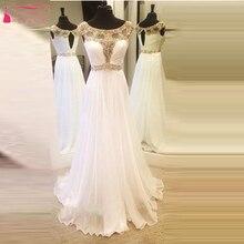 Weiß Kristall Bling Bling A Line Abendkleid Elegante Charming Brautkleid Prom Kleider Mädchen robe de soiree Lange Z102