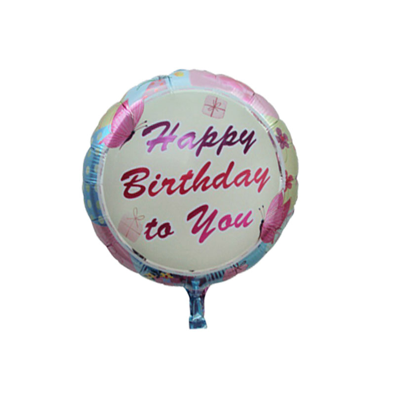 5pcs/lot Birthday cake foil balloons helium balloon globos inflatable happy birthday balloons air balls children party supplies
