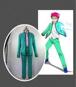 Image 2 - Pour Saiki Kusuo no Psi Nan Cosplay Costumes la vie désastreuse de Saiki K. Hommes ensemble complet vêtements uniforme