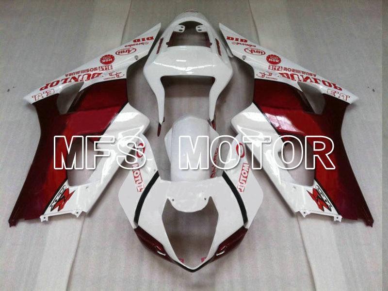 Мотоцикл части для Suzuki GSXR 1000 К3 2003 2004 АБС впрыска Обтекателя комплекты GSXR1000 К3 03 04 - Иордания - белый/красный