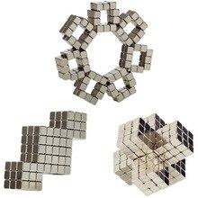Баки Шары 216 шт. Магнитная Magic Cube игрушки Мини Магнит Шары Puzzle металлические бусины DIY образования Magcubes для детей и взрослых l235