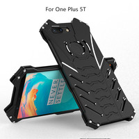 For OnePlus 5 5T Shockproof Case Drop Proof Luxury Doom Heavy Duty Armor Metal Aluminum Mobile