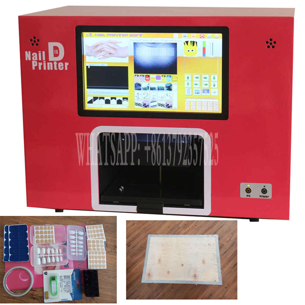 free shipping screen nail painter machine nails art painter easy to ...