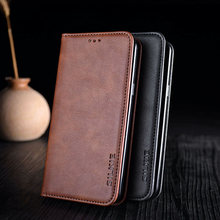 Case for oneplus 7 pro 6 6t 5 5t funda Luxury leather + stand for oneplus 5 5t 6 6t 7 pro case flip cover without magnets coque