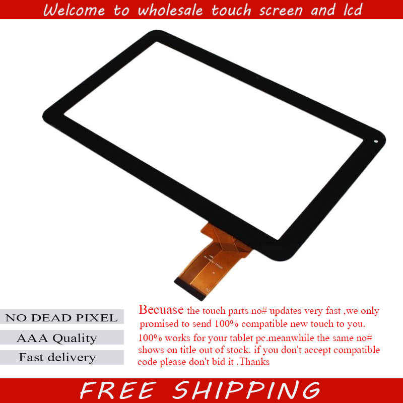 Free film+10.1 Inch for YTG-P10025-F1 OPD-TPC0305 ZP9120--101-VER.00 Tablet Touch Screen Touch Panel Digitizer Glass Sensor