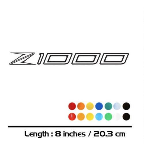 2X NEW Motorcycle Sticker Bike Fuel Tank Wheels Helmet Fairing Luggage MOTO Accessories Reflective Sign Decal For KAWASAKI Z1000