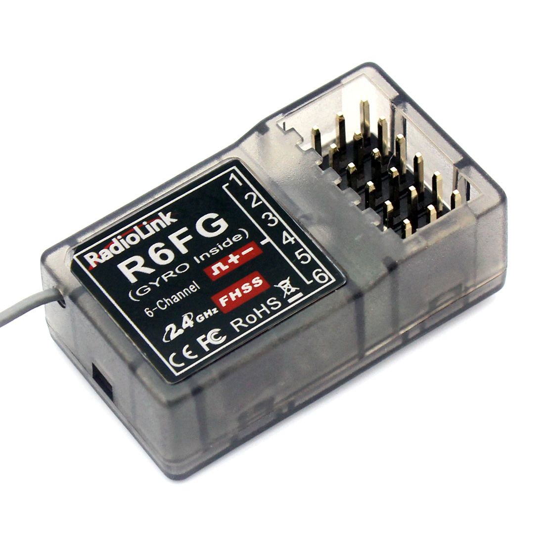 Radiolink FHSS R6FG 2,4G 6 4-kanal-funkfernsteuerung System RC6GS RX Empfänger F21425