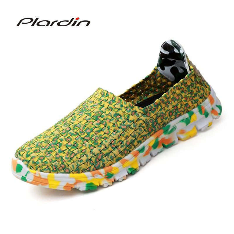 plardin New Summer women soft Mixed color Leisure Fashion Flat Sandals For woman Shoes Breathable Woven Color sole ladies shoes women s shoes 2017 summer new fashion footwear women s air network flat shoes breathable comfortable casual shoes jdt103