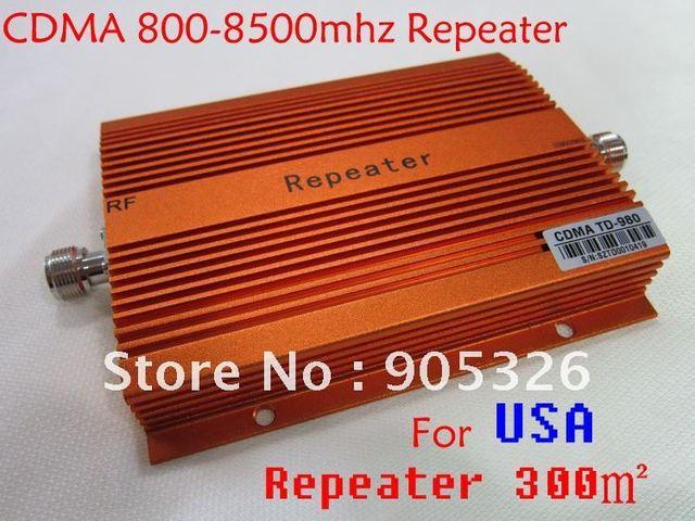Mobile phone signal amplifier cdma800-850mhz repeater Mobile phone signal repeater  The full set of free shipping