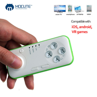 Mocute Mini Controllers For Iphone IPad MID Wireless Gaming Gamepad Mouse Controllers Joystick Bluetooth Mini Remote