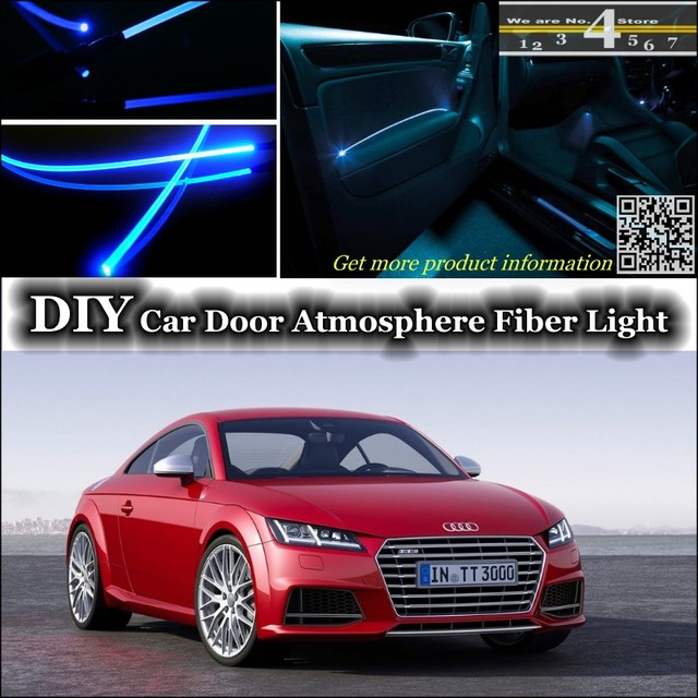 For Audi TT TTS Interior Ambient Light Tuning Atmosphere Fiber Optic - Audi tts