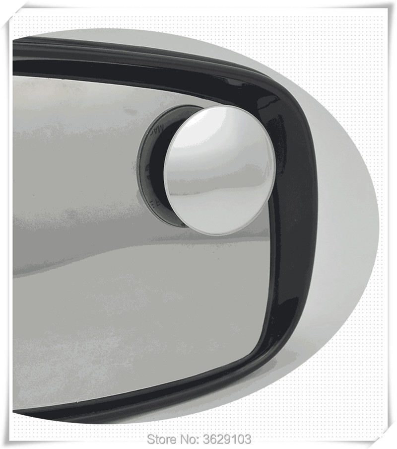 2pcs 360 Degree Car mirror Wide Angle Convex Blind Spot mirror for all car accessories car-styling DIY