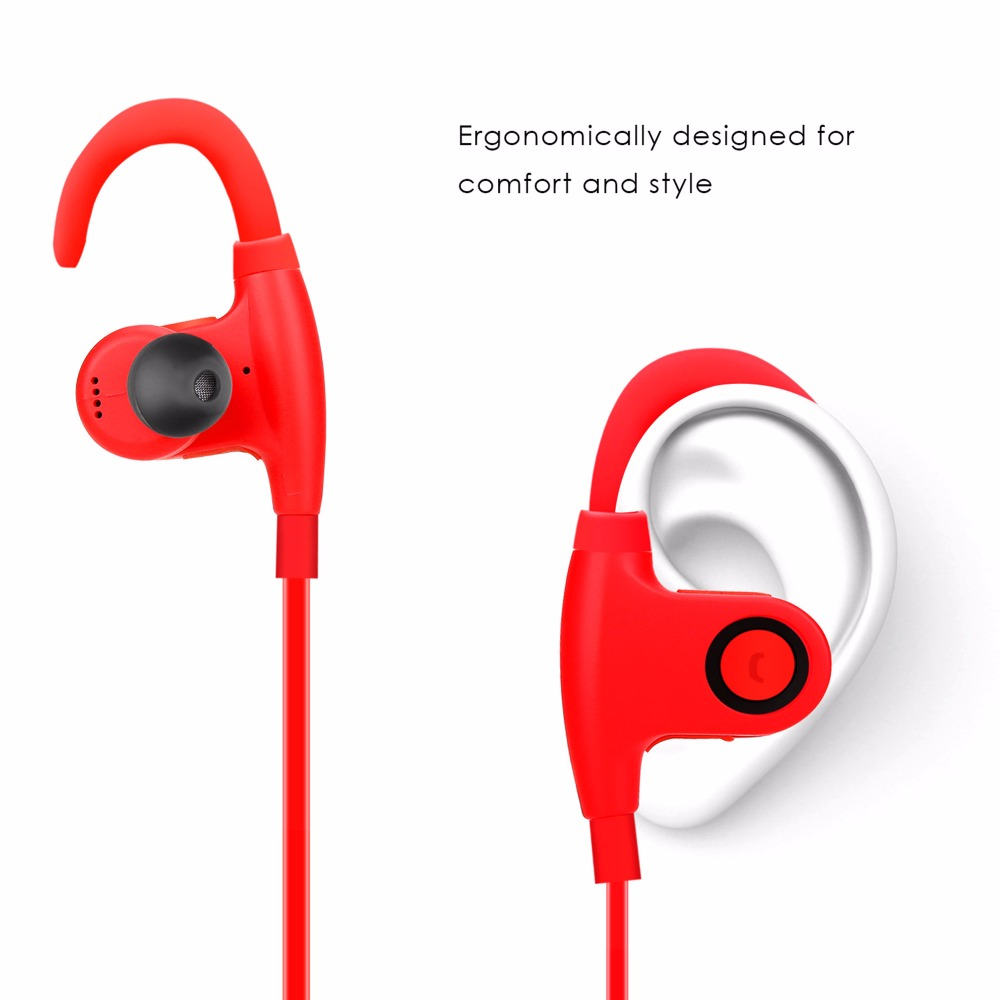 MGF2 waterproof  headphones sport bluetooth earphone 4.1 For Gym Exercise Wireless fone de ouvido with mic for xiaomi smartphone for xiaomi 3 5mm in ear stereo sport earphone with mic remote wire voice control earphone for xiaom smartphone fone de ouvido pc