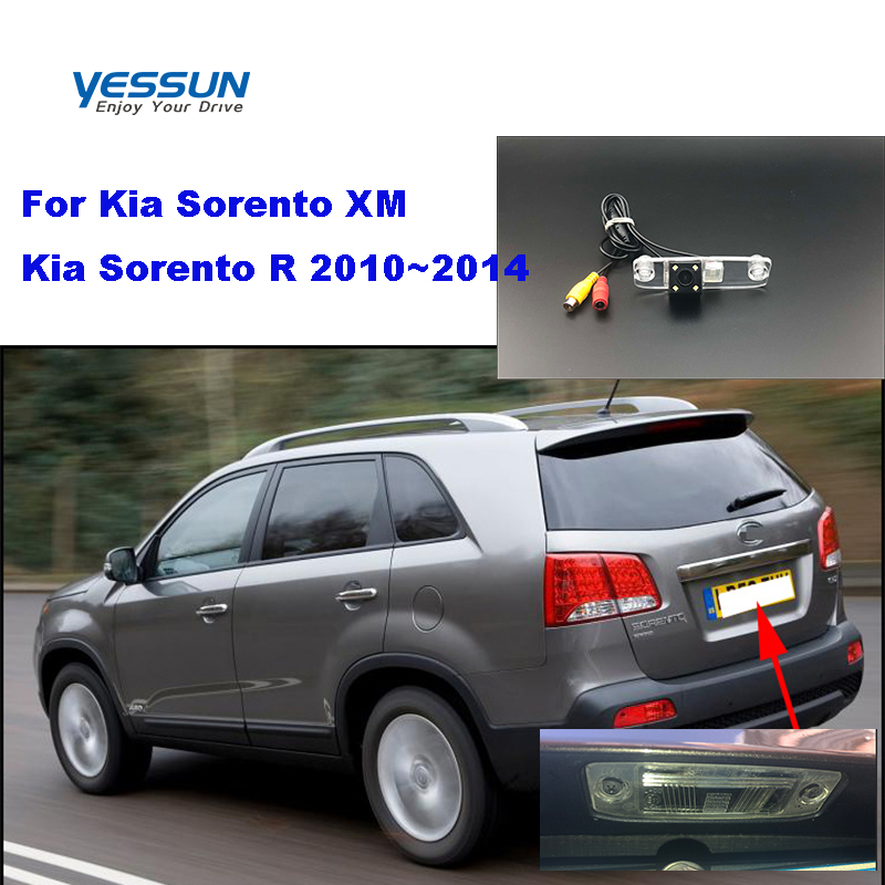 Yessun License palte camera For Kia Sorento XM Kia Sorento R 2010~2014 View camera Parking Assistance(China)