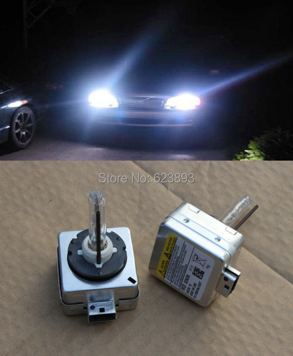 2 x D1S 6000K HID Xenon Bulbs Set for Mercedes-Benz Headlight Replacement Lamps