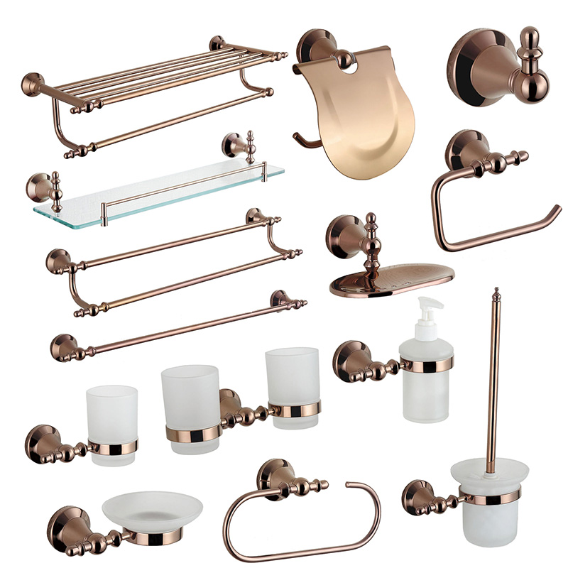 Copper Bathroom Accessories Sets Home