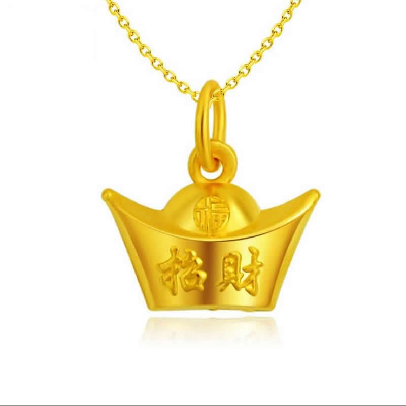 Pure 24K Yellow Gold Gold coin pendant / Fashion   gold Pendant 1gPure 24K Yellow Gold Gold coin pendant / Fashion   gold Pendant 1g